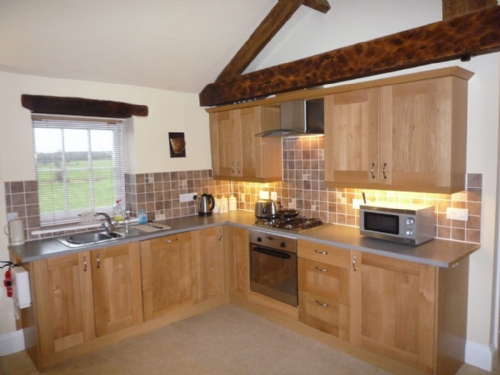 Carlton Mill, Kitchen, Lakes cottage holidays