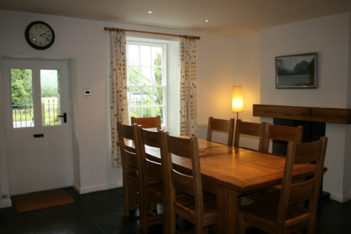 Coombe Cottage, Dining area, Lakes Cottage Holidays