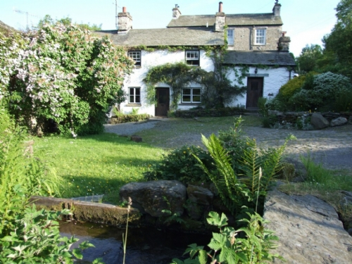 Mill Cottage, Garden, Lakes Cottage Holidays