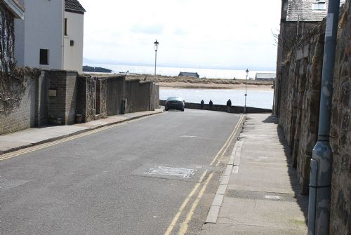 Bangor situated on right hand side leading down this road