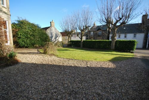 Parking area/front garden