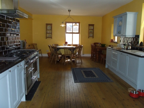 Marine Terrace , Dining Kitchen, Lakes Cottage Holidays