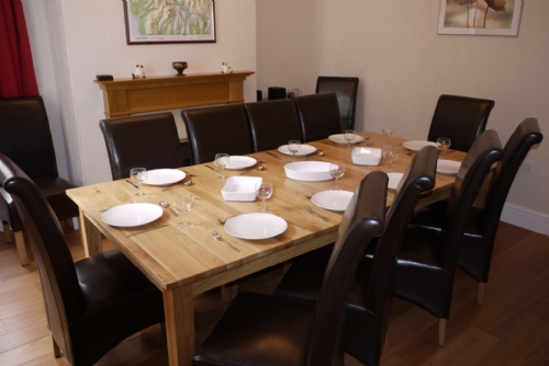 Riverdale, Dining room, Lakes Cottage Holidays
