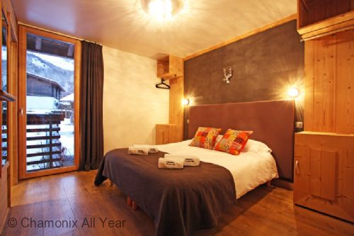 Chalet Union – Brown room