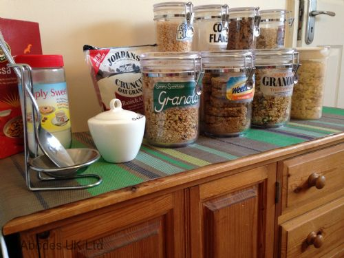 Abodes B&B Double Room - Good selection of cereals