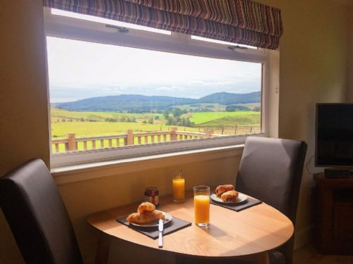 Upfront,up,front,reviews,accommodation,self,catering,rental,holiday,homes,cottages,feedback,information,genuine,trust,worthy,trustworthy,supercontrol,system,guests,customers,verified,exclusive,pine marten lodge,solid luxury ,blacklunans,,image,of,photo,picture,view