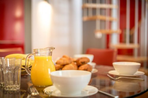 Tuck into traditional croissants from the local bakery to wake you up!