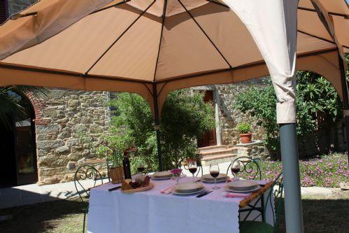 Pergola and garden features