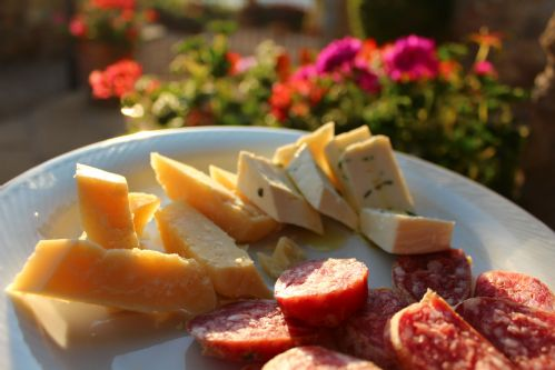 Simple food to enjoy al fresco
