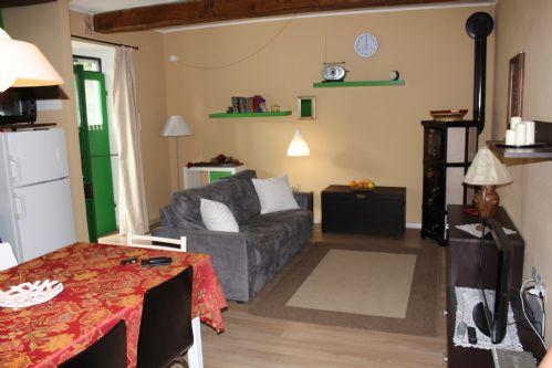 Garden floor sitting room.