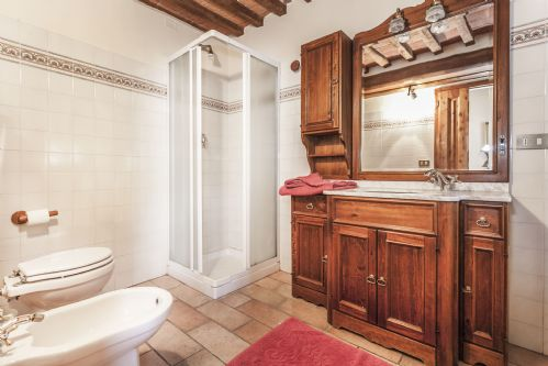 Bright shiny bathrooms