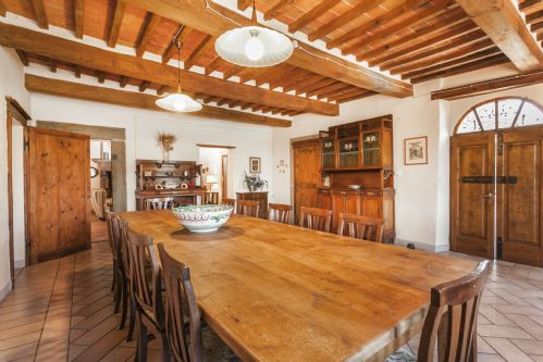 Extra large dining hall, all the space inside this villa are spacious