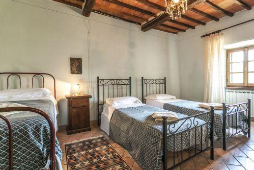 Three single beds,