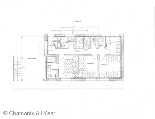 Floor plan of the lower ground floor