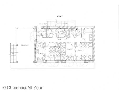 Floor plan of the lower ground floor