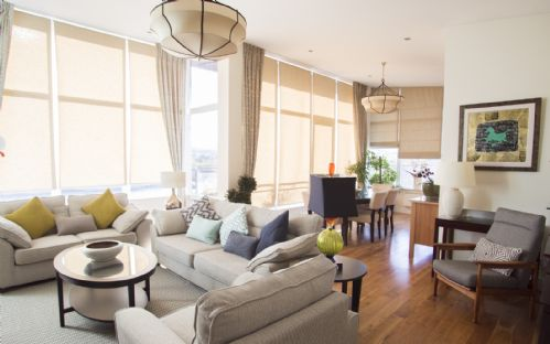 Ridge Hall Penthouse Apartment, 5 Minutes Drive From Dun Laoghaire & Just A 10 Minute Walk To The Dart - 3 Bedrooms - Sleeps 6