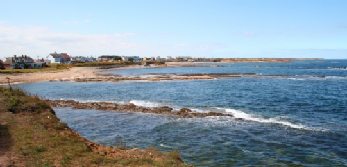 Beadnell beach to Seahouses