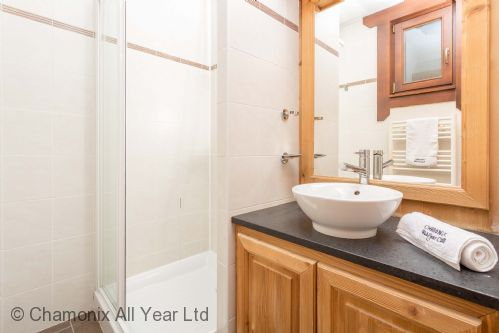 Ensuite bathroom with shower (there is a separate WC)