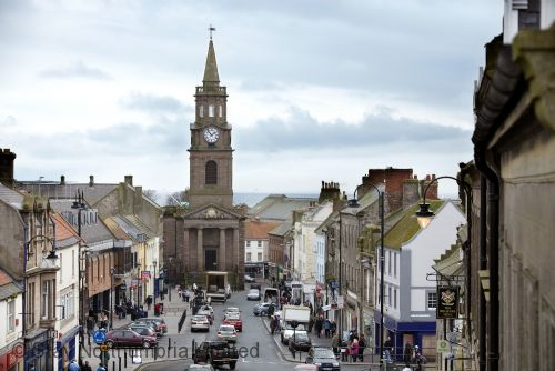 Berwick town centre approx 5mins drive