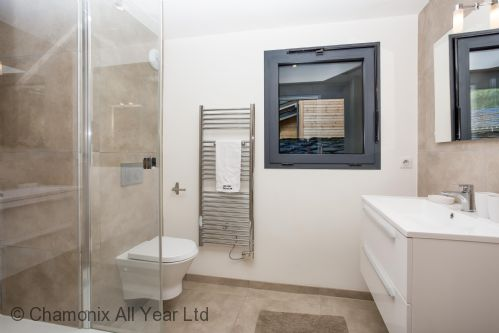 Ensuite bathroom has walk-in shower & WC