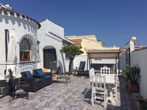 50.3 Bedroom 2 Bathroom Detached South Facing Villa with Private Pool in La Florida, Playa Flamenca Sleeps 6