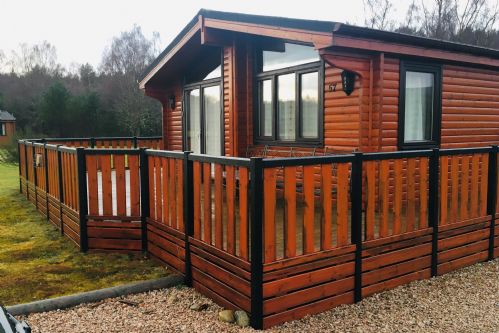 Upfront,up,front,reviews,accommodation,self,catering,rental,holiday,homes,cottages,feedback,information,genuine,trust,worthy,trustworthy,supercontrol,system,guests,customers,verified,exclusive,chalet 57 ,dalraddy holiday park,aviemore,,image,of,photo,picture,view