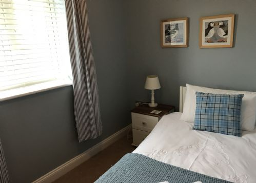 Single room at rear of property