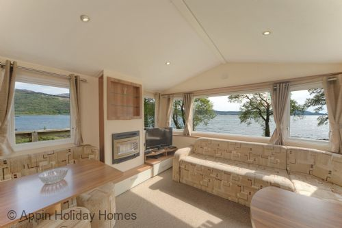 Upfront,up,front,reviews,accommodation,self,catering,rental,holiday,homes,cottages,feedback,information,genuine,trust,worthy,trustworthy,supercontrol,system,guests,customers,verified,exclusive,caravan h loch facing,appin holiday homes,,,image,of,photo,picture,view