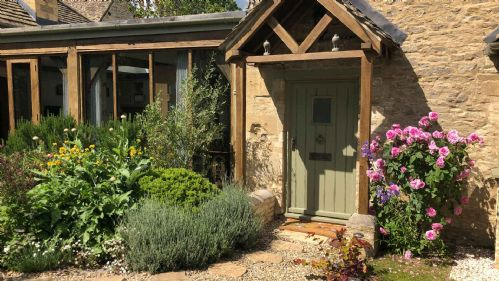 Dove Cottage Entrance - StayCotswold