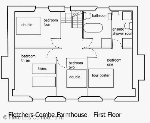 Upfront,up,front,reviews,accommodation,self,catering,rental,holiday,homes,cottages,feedback,information,genuine,trust,worthy,trustworthy,supercontrol,system,guests,customers,verified,exclusive,fletchers combe farmhouse,fletchers combe farm ,totnes,,image,of,photo,picture,view