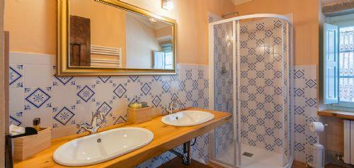 Bright and shiny bathrooms