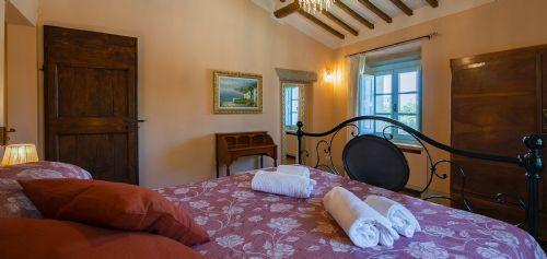 Bright comfy bedrooms