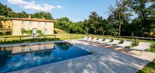 Villa, gardens and private pool