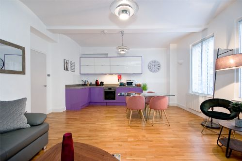 Upfront,up,front,reviews,accommodation,self,catering,rental,holiday,homes,cottages,feedback,information,genuine,trust,worthy,trustworthy,supercontrol,system,guests,customers,verified,exclusive,mulberry flat 1 - one bedroom 1st floor,hurford salvi carr ltd t/a city living london,clerkenwell, london,,image,of,photo,picture,view