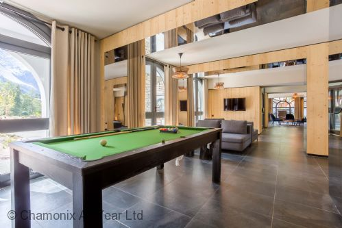 Unwind at the pool table