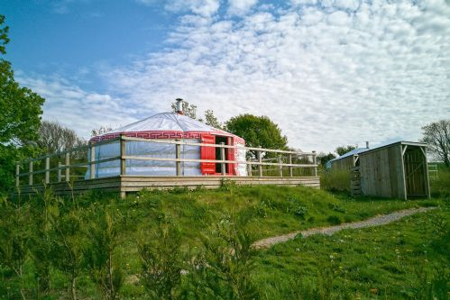 Chestnut Yurt 1