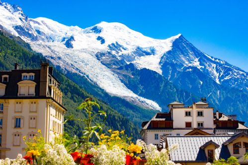 Summer in Chamonix
