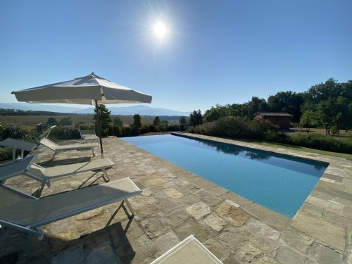 Sunny terraces, and a lovely Private Pool