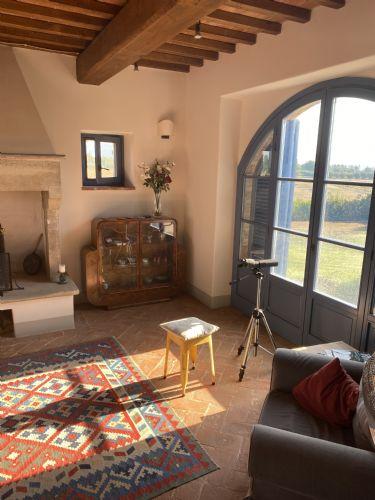 Main sitting room, windows to garden