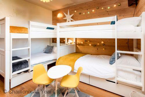 Bunk room -sleeps 4
