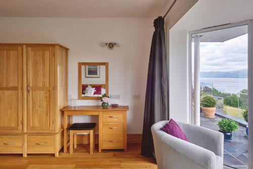 Seaview Apartment Bedroom View