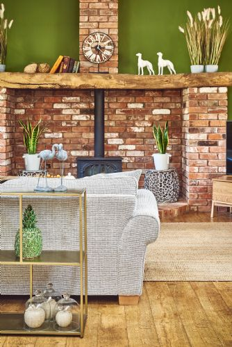 The Luxury Barn Living Detail