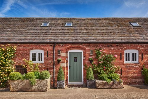 The Luxury Barn Front Door