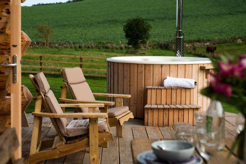 Melrose Cottage Hot Tub 1