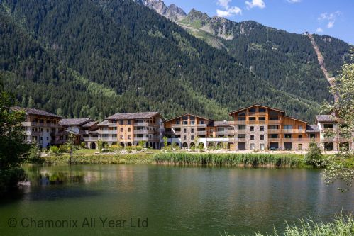 Cordee complex over looking the lake