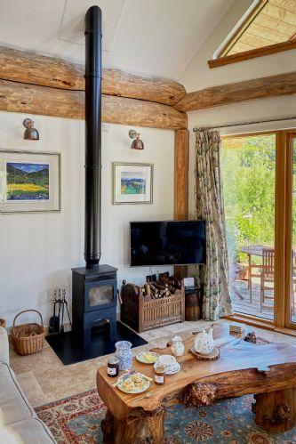 Fir Cottage Log Burner