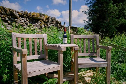 Fir Cottage Outside Seating