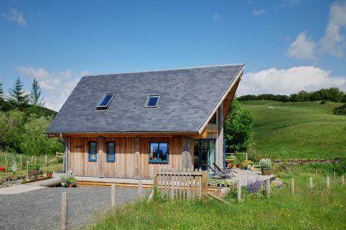 Fir Cottage Side Exterior