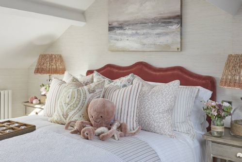 The Beach House Pink Bedroom