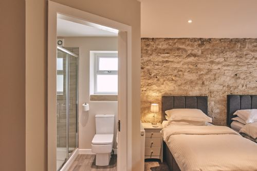 The Cowshed Twin Beds